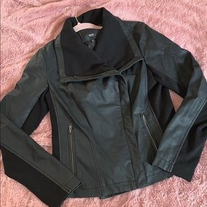 Mossimo Faux Leather Jacket- Size M